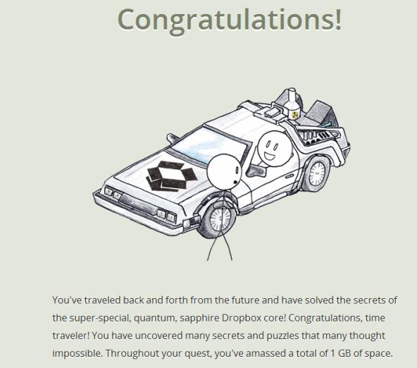 《Dropquest 2012全攻略,完成即送Dropbox 1G永久空间》