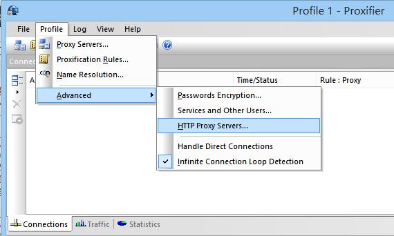 《使用Proxifier解决Dropbox无法实时更新问题》