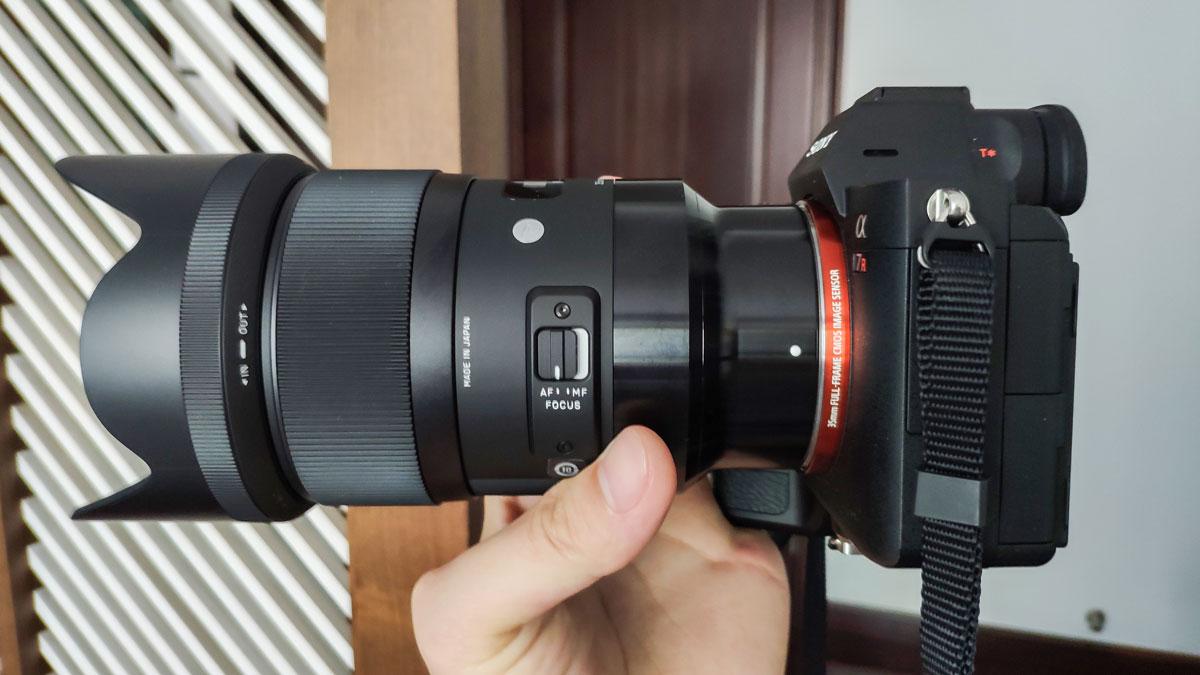 《适马(Sigma) 35Art E卡口镜头开箱》