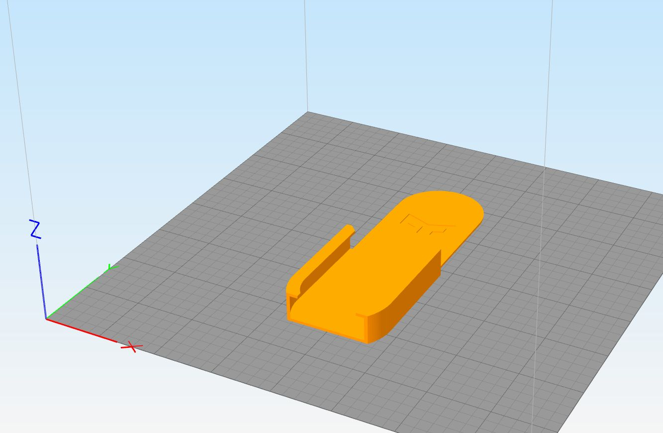 《[3D打印]Yeelight遥控器壁装支架模型分享(STL)》